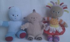 Adorable My 1st Baby Set of 'In the Night Garden' Plush Toys